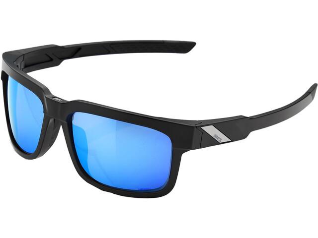 100% Type S HD Multilayer Mirror/Hiper Glasses Matte Black